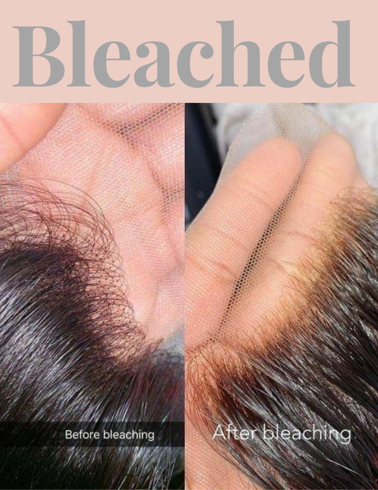 bleached knots wigs